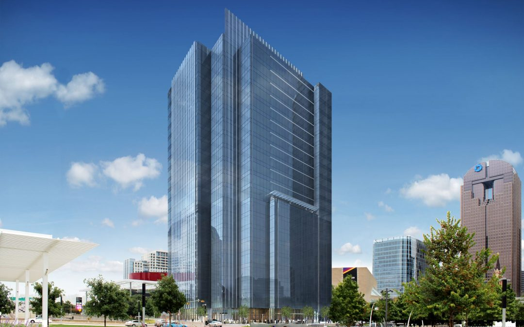 Downtown Dallas Tower Hits the Top Floor of Construction